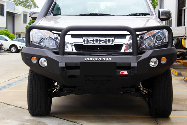 MCC 4x4 Rocker Bar (with Hoops) Isuzu Dmax/MU-X 2012 on
