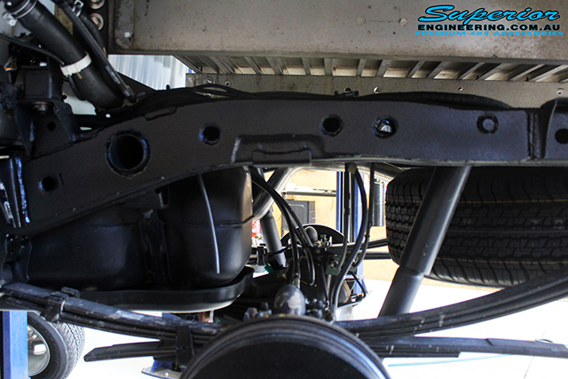 Superior Chassis Brace/Repair Plate Ford Ranger PX2/Mazda BT-50