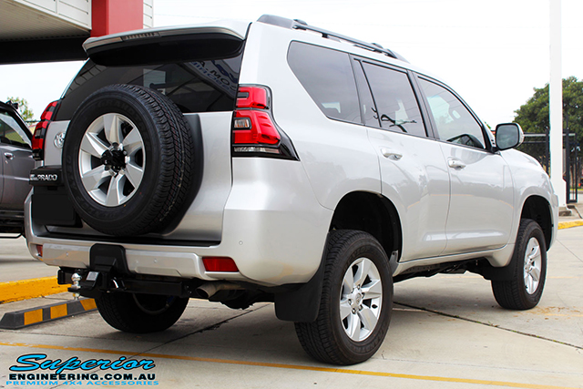 Superior Remote Reservoir 2 Inch Lift Kit Toyota Prado 150 Series