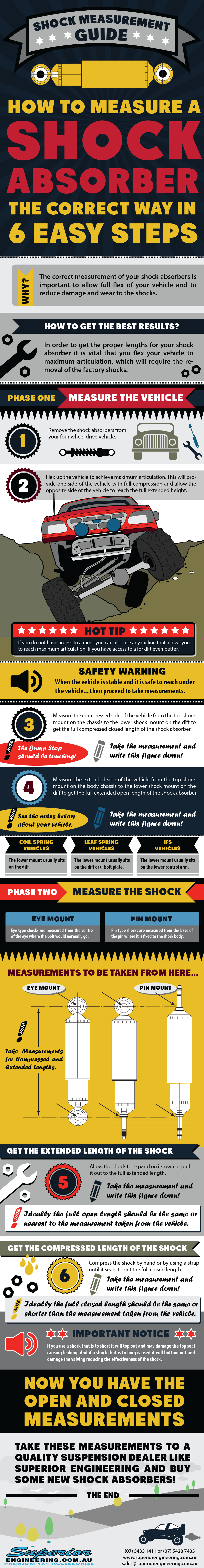How to Measure a Shock Absorber | Superior Engineering