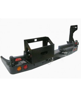 MCC 4x4 Rear Bar with Wheel Carrier and Jerry Can Holder Suitable For Nissan Navara D40