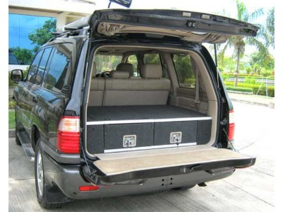 MCC 4x4 Drawer System Fixed Top Suitable For Toyota Prado 120