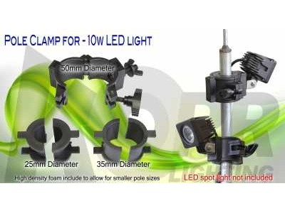 Pole Clamp for LED Spot/Flood Light 10Watt