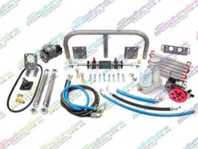 Full Hydraulic Steering Kit 10 Inch Ram