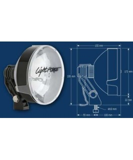 Lightforce 170 Striker Driving Lights 12 Volt