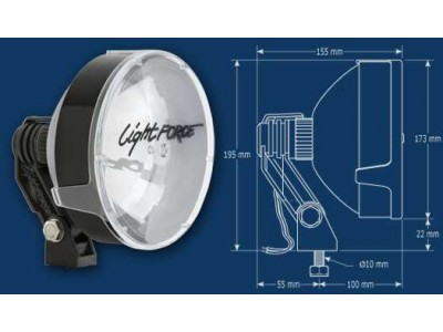 Lightforce 170 Striker Driving Lights 24 Volt