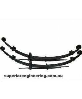 Superior Custom 4 Inch Leaf Springs Rear