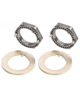 Chromoly Spindle Nut Kit