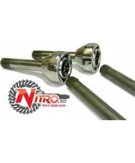Cv and Axle Set Nitro Gear 27-30 Spline (Pair)