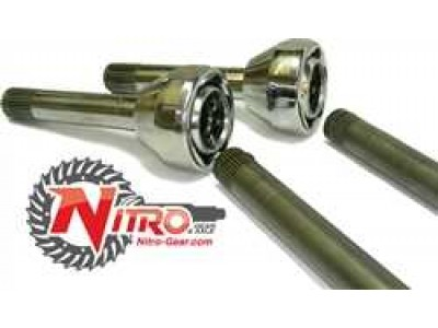 Cv and Axle Set Nitro Gear 27-30 Spline (Pair)