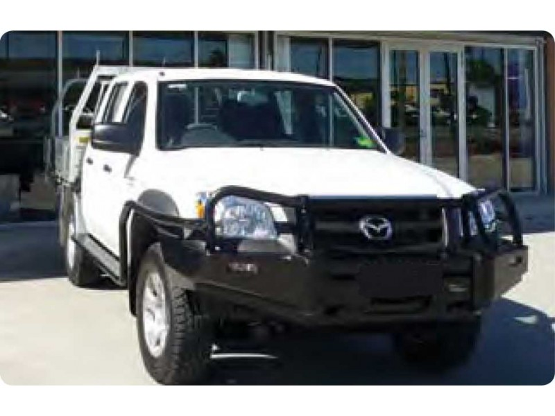 Ironman 4x4 Deluxe Black Commercial Bull Bar Suitable For Mazda BT50 ...