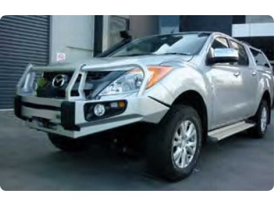 Ironman 4x4 Black Commercial Bull Bar - Mazda BT50 (2012 on)