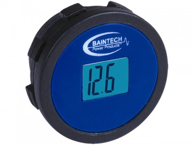 Baintech DC 12 Volt LCD Single Meter Flush Mount