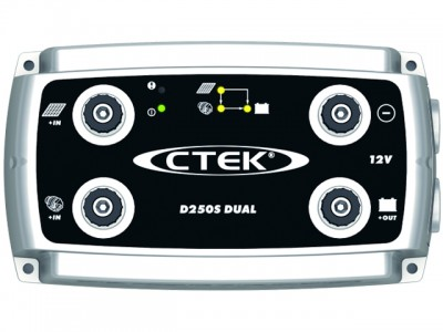 CTEK 12 Volt Battery Charger D250S Dual Charger/Isolator