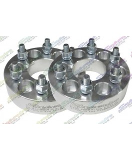 Superior Alloy Wheel Spacers 1.5 Inch 6 Stud Suitable For Nissan Navara D40/NP300