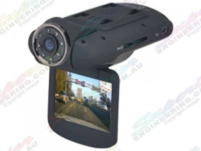 Axis Single Camera 1080HD DVR with Flip Down Display