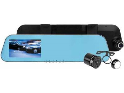 Axis Clip on Rearview Mirror Kit with 4.3 inch LCD Monitor