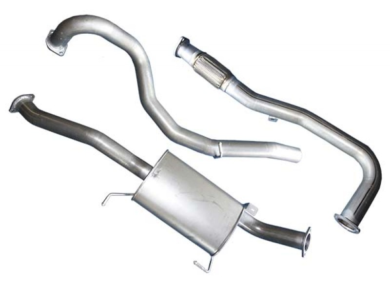 Superior Exhaust System 25 Inch Suitable For Mitsubishi Triton Mn25lt 4 Cyl Turbo Diesel: Triton Exhaust System At Woreks.co