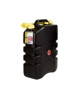 20L Plastic Jerry Can (Black)
