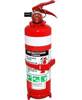 1.0kg Fire Extinguisher 1A:20BE (Metal Bracket) (Each)