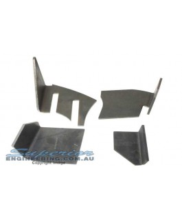 Superior Coil Tower Brace Kit Suitable For Nissan Patrol GQ (Weld In)
