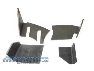 Superior Coil Tower Brace Kit Nissan Patrol GQ (Weld In)