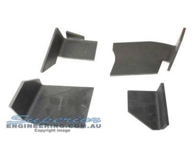 Superior Coil Tower Brace Kit Nissan Patrol GU Wagon (Weld In)