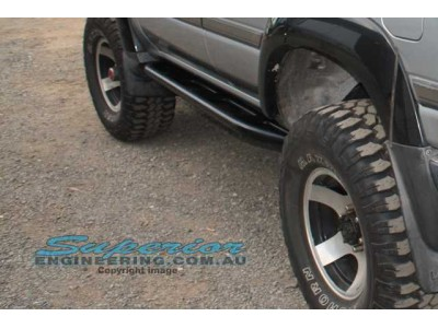 Superior Rock Slider Toyota Landcruiser 80 Series