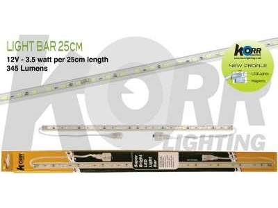 LED Light Bar 25cm White