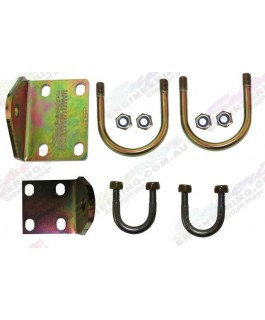 Superior Steering Damper Bracket Relocation Kit Suitable For Land Rover Discovery/Range Rover