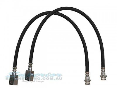 Brake Lines Rubber 6 Inch Front With Abs 8716