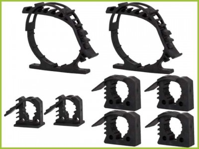 Ironman 4x4 Quick Grip Rubber Mounting Clamp Kit