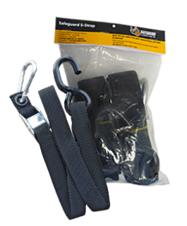 SAFEGUARD CARGO NET LOAD STRAP 100cm (Pack)
