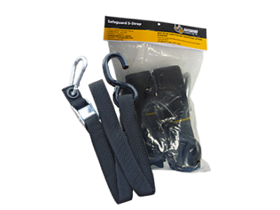 SAFEGUARD CARGO NET LOAD STRAP 100cm (SMALL HOOK)
