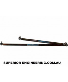 Superior Comp Spec Solid Bar Tie Rod and Drag Link Kit Suitable For Suzuki Sierra (Wide Track) Adjustable