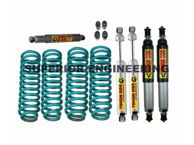 Superior 2 Inch Lift Kit Nissan Patrol GQ with Tough Dog Shocks