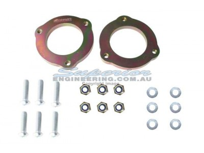 Superior Strut Spacers 20mm Lift Nissan Navara D40/NP300 R51 Pathfinder