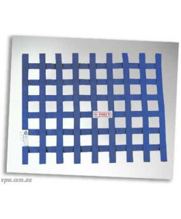 GFORCE RIBBON WINDOW NET BLUE SFI-27.1 (Each)