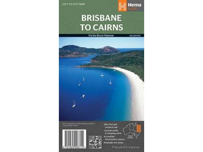 Brisbane to Cairns Hema Map