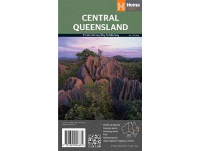 Central Queensland Hema Map