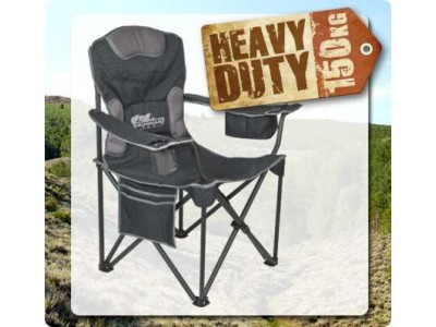 Ironman 4x4 Soft Arm Chair (150kg Rated)