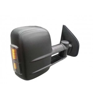 Clearview Tow Mirrors Toyota Prado 150 Series 2009 on (Black with Indicators)