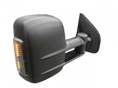 Clearview Tow Mirrors Chevrolet Silverado 2007-2013 (Black with Indicators)