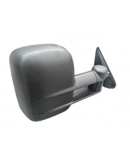 Clearview Tow Mirrors Suitable For Toyota Landcruiser 75/76/78/79 Series 1984 on (Black/Manual)