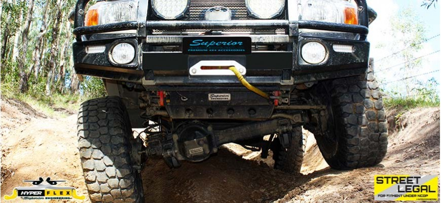 79 Series Landcruiser HyperFlex Radius Arms