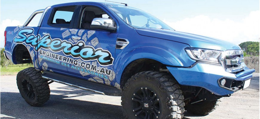 Ford PXII Ranger Coil Conversion Kits