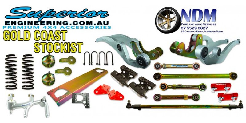 New QLD Stockist NDM Bosch Auto Services