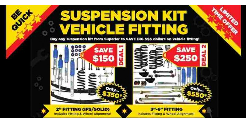 Suspension Kit Vehicle Fitting OFFER