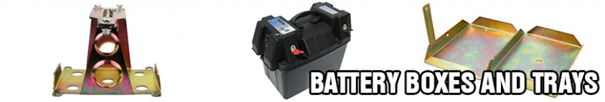 Battery Trays and Boxes