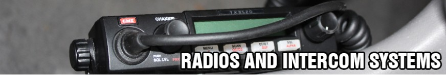 Radios and Intercom Systems